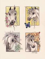Unicorn Seasons by Artsy50