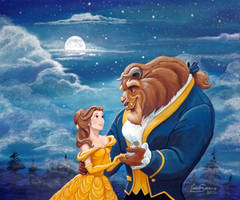 Beauty and the Beast...Commission. by Artsy50