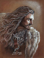 Thorin Oakenshield, Richard Armitage... by Artsy50