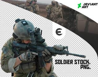 Soldier Stock (Prewiew) by EXVIL