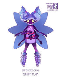 Butterfly form by EurekaRysuje