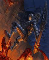 Warrior by Phill-Art