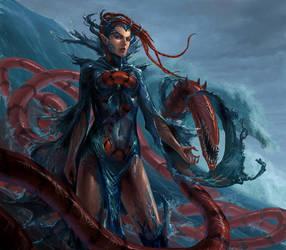 Sea Demon by Phill-Art