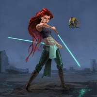 Jedi Ariel by Phill-Art