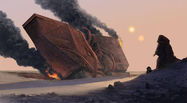 The Jawa Surviver - ILM Challenge by Phill-Art