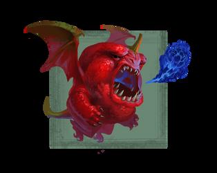 Scorpion Pepper Dragon by Phill-Art