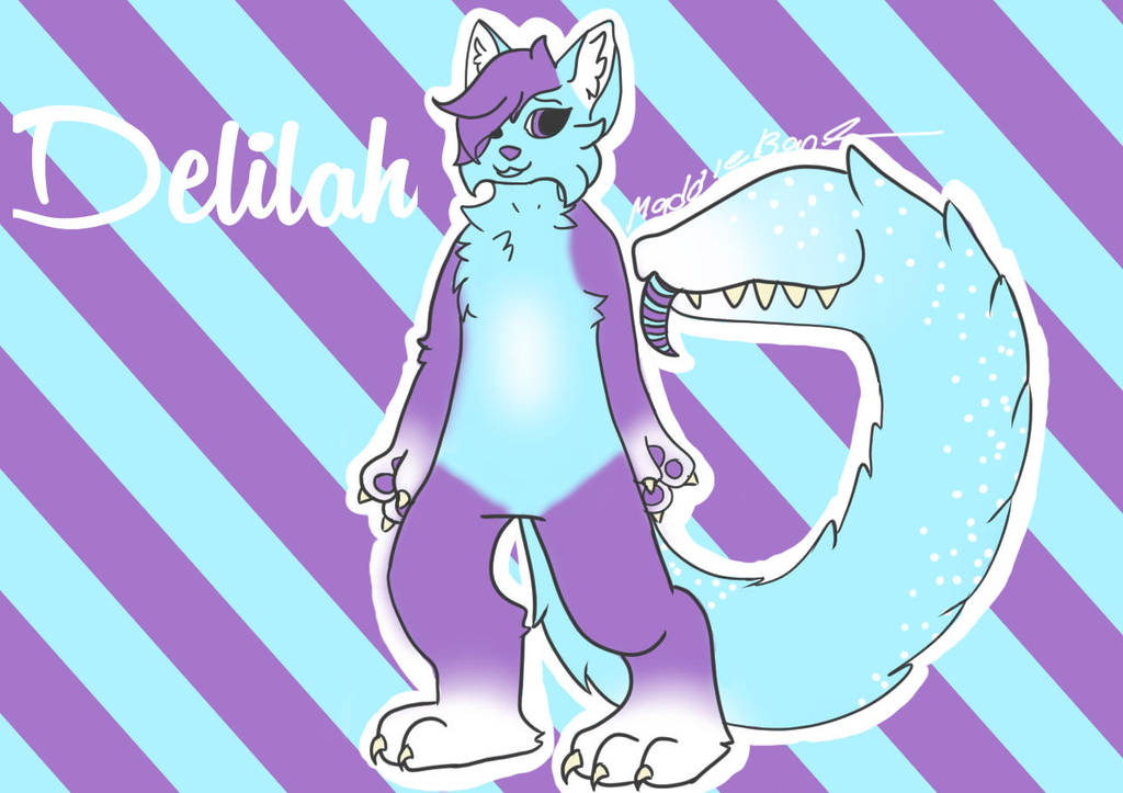 Delilah OC by StitchUpPatch