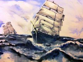 Sea Sick by Eden-ArtFromTheHeart