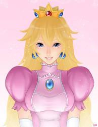 Princess Peach by Khalitzburg