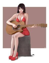 Guitar by Khalitzburg