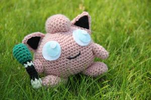 #039 Jigglypuff by pokecrochetchallenge