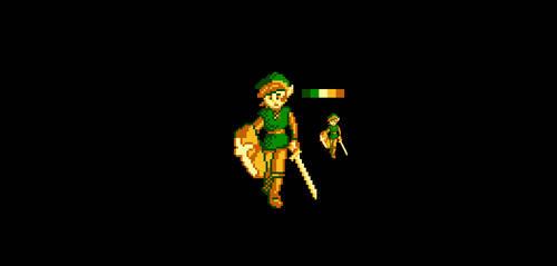 Pixel Art: NES Palette Link by phanxgames