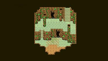 Pixel Art: Map: Rootcave WIP by phanxgames