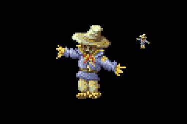 PixelArt: Scarecrow by phanxgames