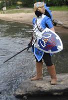 Zora Link: Battle Ready by witchiamwill