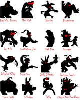 Shadow Clayfighters by lygiamidori