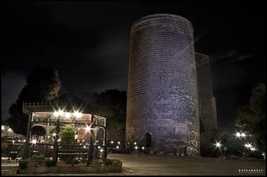 Qiz Qalasi - Maiden Tower by daglaroglu