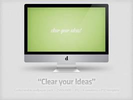 Clear your Ideas + PSD by YaroManzarek