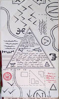 Gravity Falls Journal 3 Replica - Conspiracy Map by leoflynn