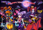 NiGHTS Happy Halloween: Trick or treat! (2018) by Elinital