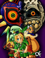 Majoras Mask by DanchuPichu
