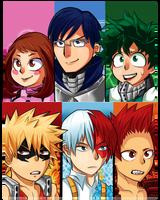 My Hero Academia Class A-1 by DanchuPichu