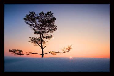 Sunset Meditation by Solkku