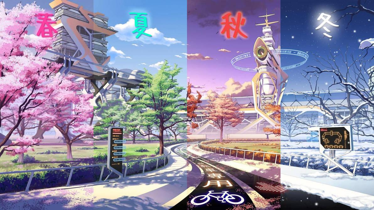 4 Seasons of Japan | Mirai Millenium by dhimasrm