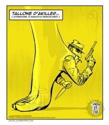TALLONE D'AKILLER - Alex Borroni by Rockomics