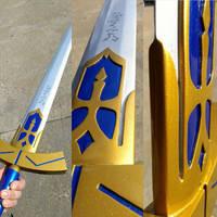 Saber's Excalibur sunlight test. by GS-PROPS