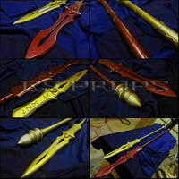 Gae Buidhe and Gae Dearg by GS-PROPS