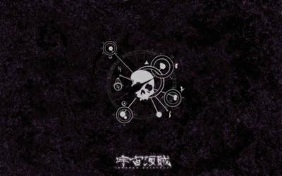 UKZ:AU Wallpaper - Jolly Roger by SpacePirateCaine