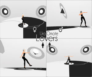 Ura-Omote Lovers Stage -removed- by kaahgome
