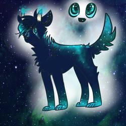 Some random space dog -CLOSED- by pandamoniama