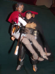 guts and casca dolls by commander-cassy