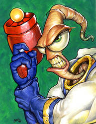 Earthworm Jim by Spencer-art