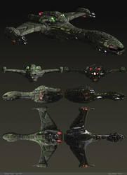 Presentation - Klingon Raptor by dlamont