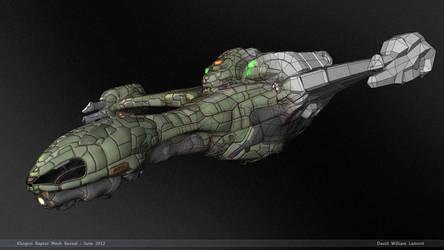 Construction - Klingon Raptor by dlamont
