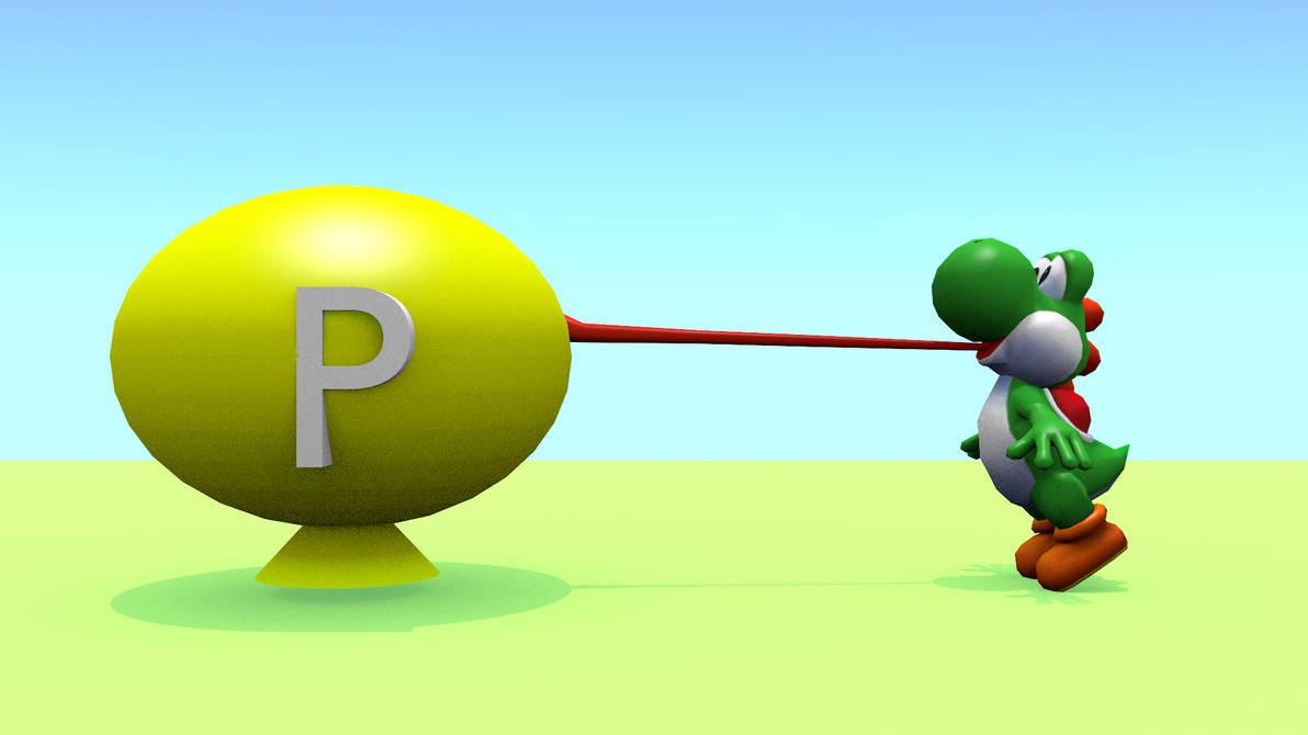 P Balloon: Yoshi Loves P-Balloons 1 By Trejowauk On DeviantArt