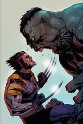 Wolv Vs Hulk/ flats Speed Run by scroll142