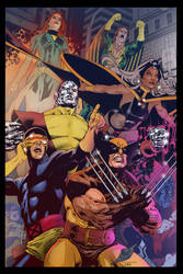 X-Men Experiments in color by scroll142