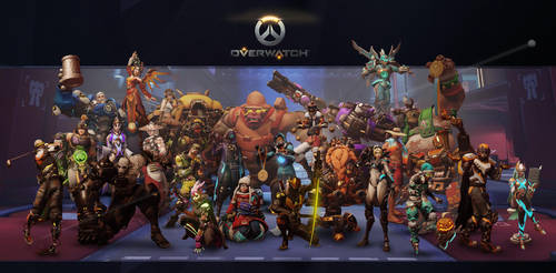 My Overwatch by scroll142