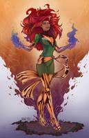 Phoenix - Jean Grey - X-men by scroll142