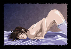 Tsuzuki  in Stockings by SiberianCat