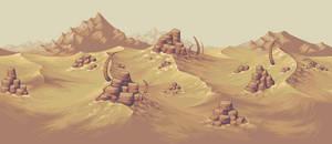 Desert Background by Pukahuna