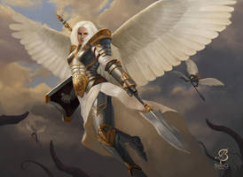 Angelic Cohort by ArtOfBenG