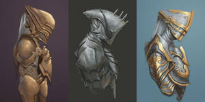 Armour Practice - Clint Cearley Challenge by ArtOfBenG