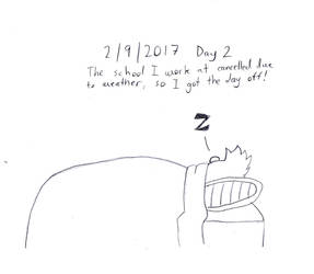 Daily Drawing: Day Two by TheUniverseTraveler