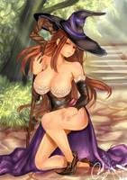Sorceress by carolriverart