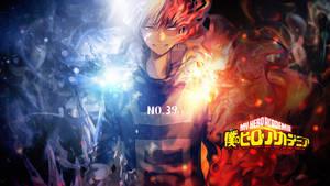 Boku No Hero Academia Wallpaper - Todoroki by Redeye27